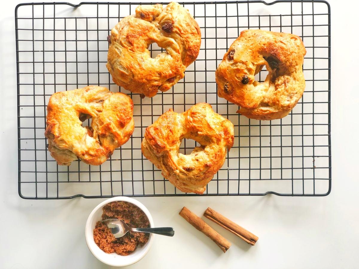 Cinnamon Bagels