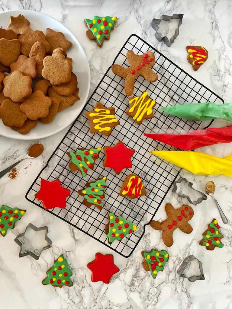 Gingerbread Koekjes. Kerst 21 daagse, bakmas bakkenmetlisanne Gingerbread Cookies