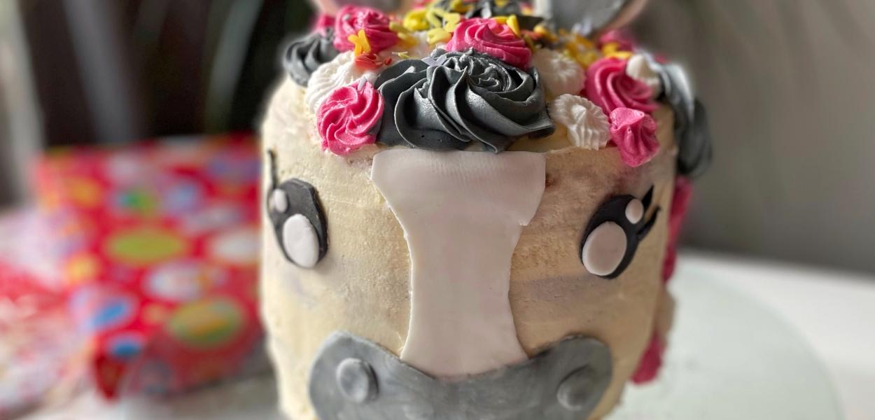 Amerigo Taart, het paard van Sinterklaas Taart, Ozosnel taart