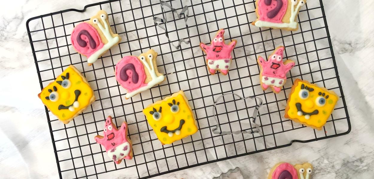 Spongebob Koekjes