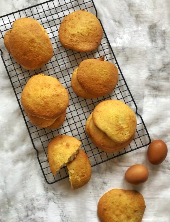 Eierkoeken, zelf eierkoeken bakken, lactosevrije eierkoeken, lekkere eierkoeken