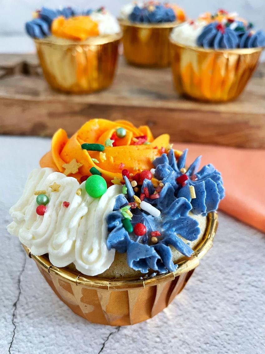 Cupcakes Nederlandse Vlag BakkenMetLisanne